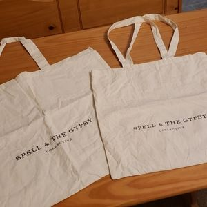 2 Large Spell & the Gypsy Collective Reusable Bags